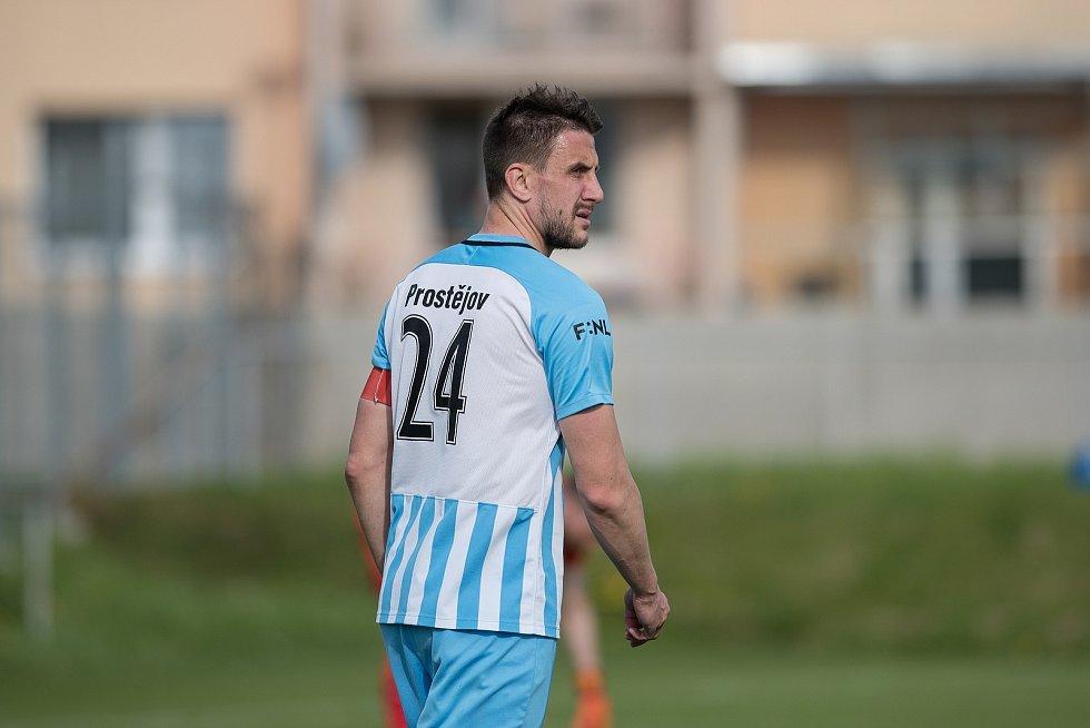 Prostějov prohrál doma s Hradcem Králové 1:2.Martin Sus