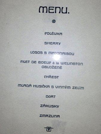 Slavnostní menu