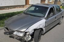 Nehoda ve Winklerově ulici v Prostějově