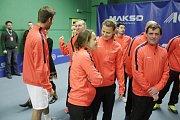 V Prostějově se konalo finále tenisové extraligy mezi domácím týmem a Spartou Praha