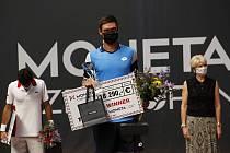Vítěz turnaje Kamil Majchrzak.