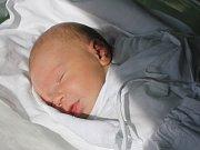 Viktor Poledňák, Prostějov, narozen 27. září v Prostějově, míra 52 cm, váha 3450 g