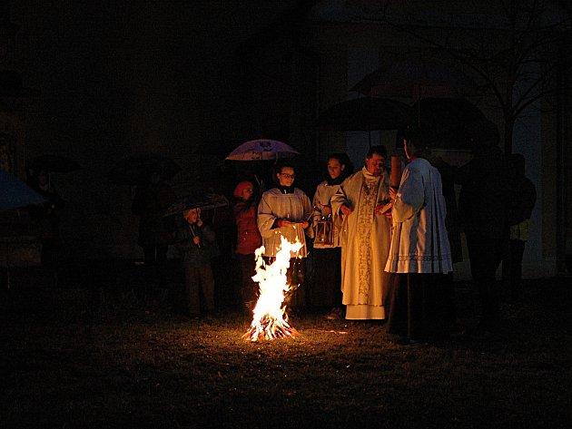Velikonoční bohoslužba v Němčicích nad Hanou