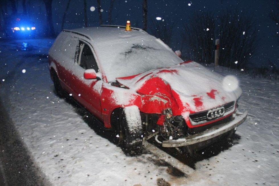 Nehoda u Dubu nad Moravou