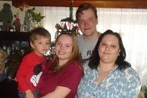 Petra Krejčí se svou rodinou je vinou covidu v karanténě.