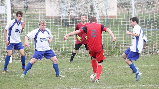 Fotbal na Prostějovsku. Ilustrační foto