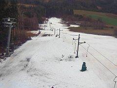 Skiareál Kladky ve čtvrtek 28. ledna 2016 v 11 hodin