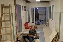 Rekonstrukce šternberské nemocnice