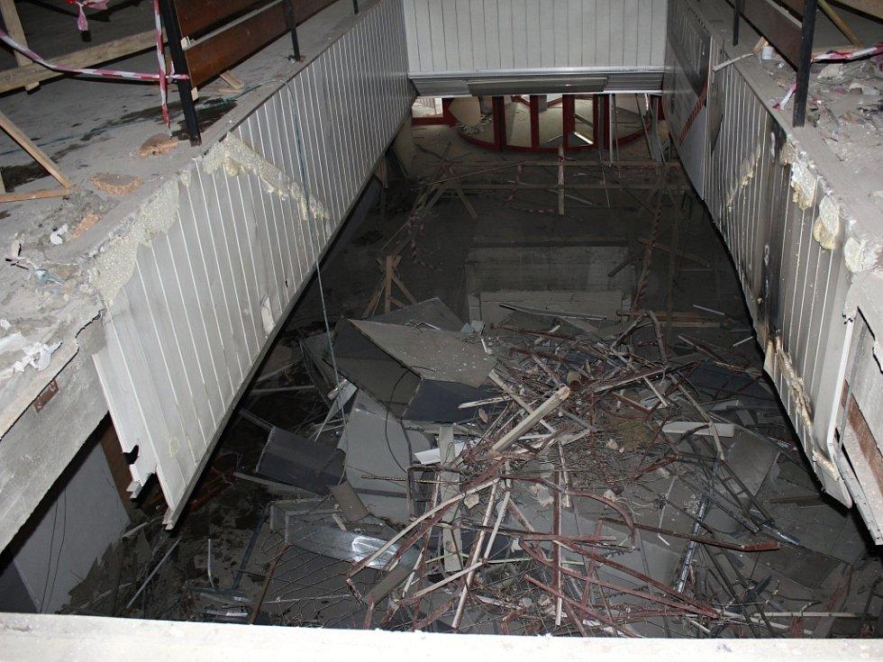 Přestavba prostějovského Prioru ve Zlatou bránu