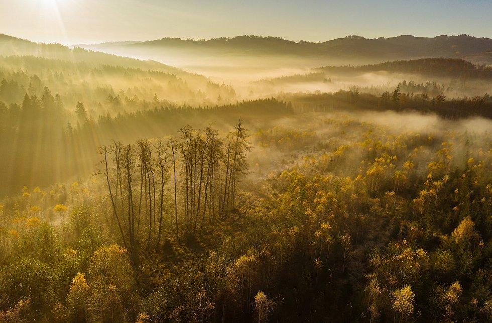 Snímek Radovana Chvíle do soutěže TSTTT kategorie Ekologické zemědělství. Vápenice