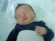 Ondřej Sadovský, Prostějov – Vrahovice, narozen 6. července v Prostějově, míra 50 cm, váha 3500 g