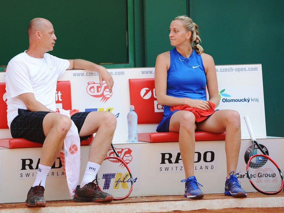 Petr Pala a Petra Kvitová