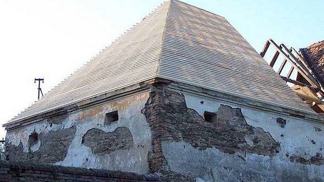 Barokní sýpka v Ludéřově