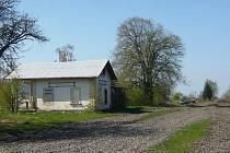 Opuštěný nádražní domek u Morkovic
