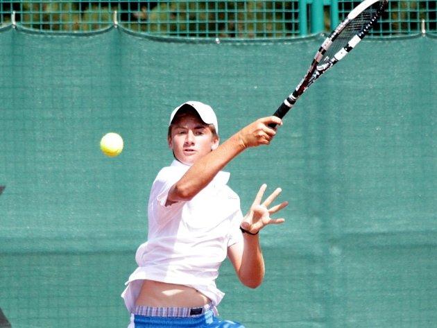 Tenisové MS družstev do 14 let v Prostějově - Čeští tenisté vyzvali v boji o páté místo Argentinu, ale Jakub Patyk i Patrik Rikl v singlech padli.