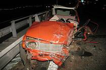 Auto devadesátiletého řidiče po tragické nehodě u Vranovic
