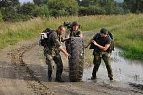 Zápolení vojáků v soutěžích na Libavé