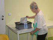 O prezidentské volby měli pacienti velký zájem