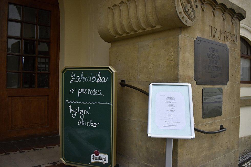 Otevření zahrádek u restaurací a hospod v Prostějově. 17.5. 2021