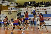 Volejbalistky z Prostějova ve finále poháru lehce přehrály Olomouc.