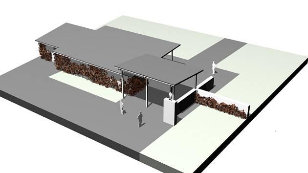 Novou podobu získá hospodářská budova kunovického hřbitova v příštím roce.