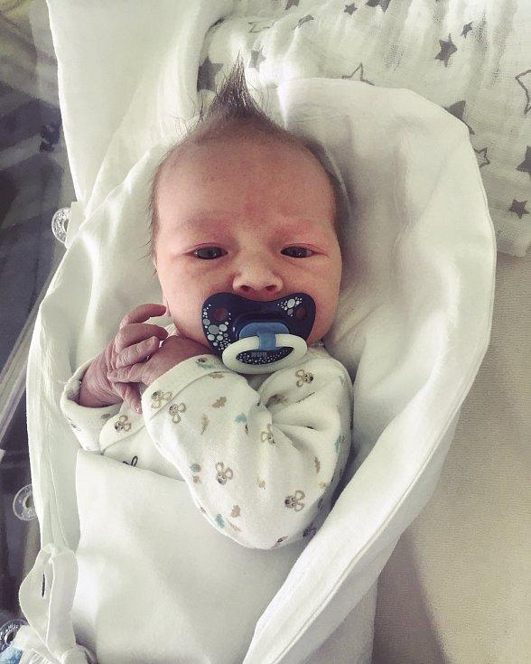 Filip Krátký, Šišma, narozen 8. března 2020 v Přerově, míra 50 cm, váha 3172 g