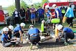 Dobrovolní hasiči z Vrchoslavic uspořádali závody v požárním útoku pro všechny kategorie. 11.5. 2019