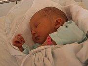 Diana Kutá, Hvozd, narozena 29. června v Prostějově, míra 48 cm, váha 3000 g