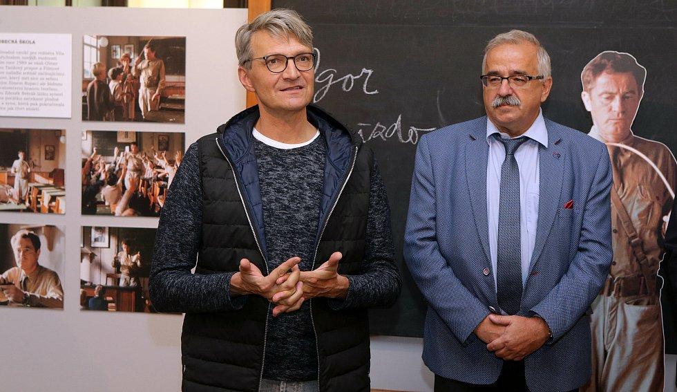 Filmová expozice Zdeňka a Jana Svěrákových v zámku v Čechách pod Kosířem