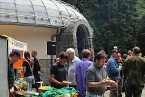 Den otevřených dveří na meteorologické stanici s unikátním radarem u Protivanova