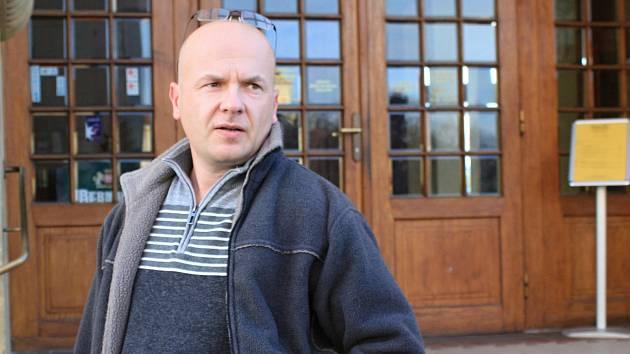 Opoziční zastupitel Petr Ošťádal za hnutí STAN v Prostějově. 22.11. 2019