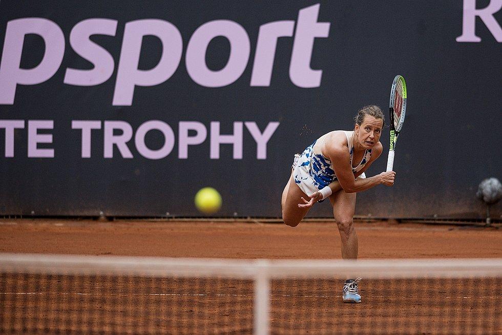 Barbora Strýcová na Tipsport Elite Trophy v Prostějově.