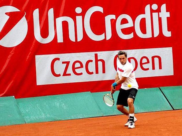 Tenisový Czech Open v Prostějově