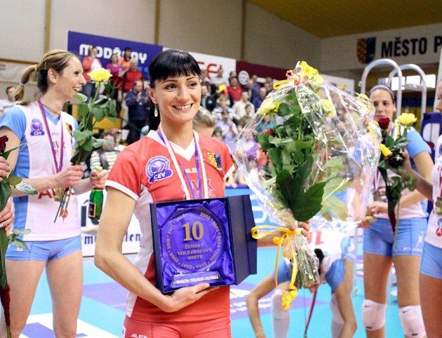 Markéta Chlumská převzala letos i speciální cenu, protože vyhrála svůj desátý titul v kariéře.