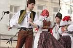 Velikonoční trhy v Prostějově s vystoupením folklórního souboru Mánes