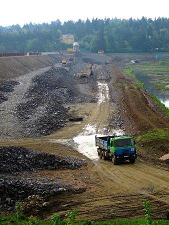 Revitalizace Plumlovské přehrady - 6.května 2013