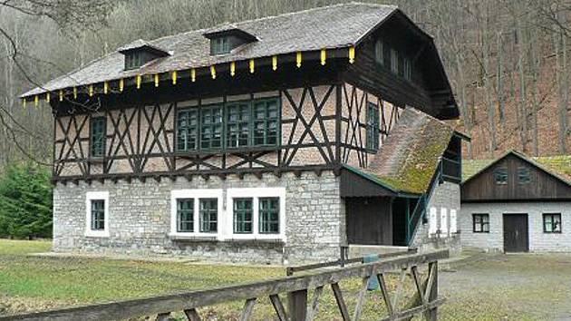 Chata Švýcárna v Moravském krasu