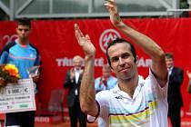 Finále tenisového Czech Open v Prostějově vyhrál Radek Štěpánek, který porazil Jiřího Veselého