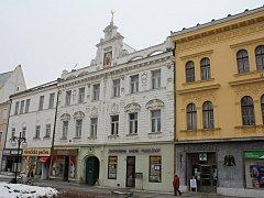Dům, ve kterém v Prostějově bydlel Václav Horák