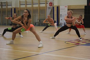 Stovky dívek předvedly své pohybové dovednosti na prostějovské Aerobic tour.
