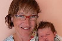 Simona Frgálová s maminkou Janou, Prostějov, Narozena 8. září 2009, 52 cm, 3500 g