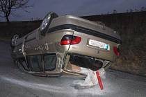 Dopravní nehoda v Otinovsi.
