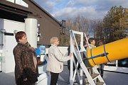 Program pro seniory na prostějovské hvězdárně
