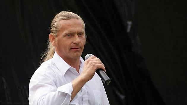 Václav Obr při své úvodní řeči na Josefkolu 2010