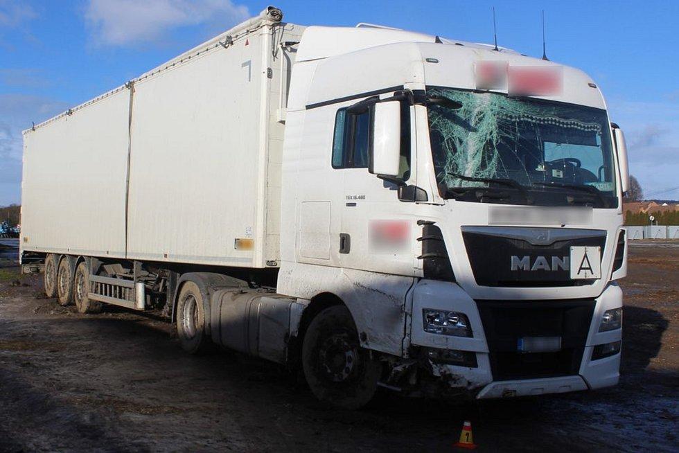 Nehoda kamionu v Budětsku