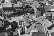 Domy v bývalém židovském ghettu v Prostějově
