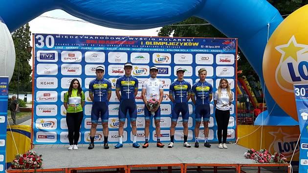 Mladí cyklisté z Prostějova závodili v Polsku