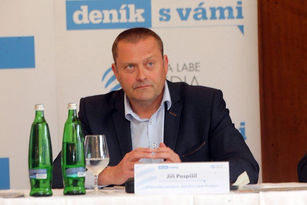 Náměstek primátora Jiří Pospíšil