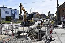Do prostějovské městské části Vrahovice, se dá momentálně dostat pouze přes centrum města. 16.4. 2020
