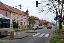 Plumlovská ulice v Prostějově